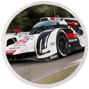 Audi R18 E-tron, Le Mans - 03 Round Beach Towel