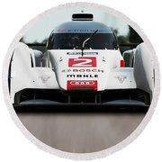 Audi R18 E-tron, Le Mans - 04 Round Beach Towel