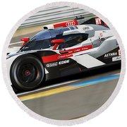 Audi R18 E-tron, Le Mans - 11 Round Beach Towel