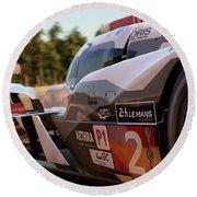 Audi R18 E-tron, Le Mans - 23 Round Beach Towel