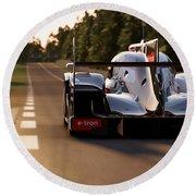 Audi R18 E-tron, Le Mans - 25 Round Beach Towel