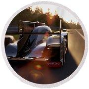 Audi R18 E-tron, Le Mans - 28 Round Beach Towel