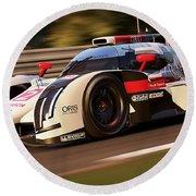 Audi R18 E-tron, Le Mans - 30 Round Beach Towel