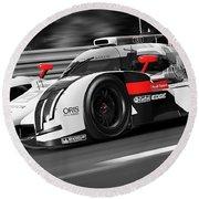 Audi R18 E-tron, Le Mans - 31 Round Beach Towel