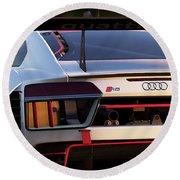 Audi R8 Lms - 06 Round Beach Towel