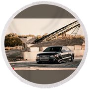 Audi S5 Round Beach Towel