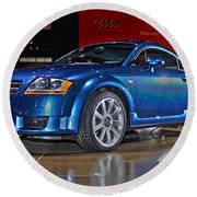 Audi Tt Round Beach Towel