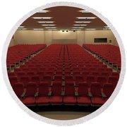 Auditorium Round Beach Towel