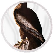 Audubon: Eagle Round Beach Towel