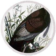 Audubon: Turkey Round Beach Towel