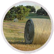 August Bales Round Beach Towel