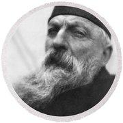 Auguste Rodin (1840-1917) Round Beach Towel
