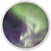 Aurora Tasiilaq Greenland 7834 Round Beach Towel