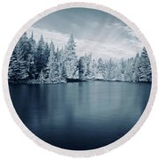Ausable River 9420 Round Beach Towel