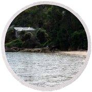 Australia - Hideout On Palm Beach Round Beach Towel