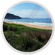 Australia - Runaway To Palm Beach Round Beach Towel