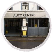 Auto Centre Round Beach Towel