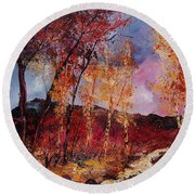 Autumn 6712545 Round Beach Towel