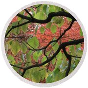 Autumn 7 Round Beach Towel