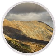 Autumn In French Alps - 5 Round Beach Towel