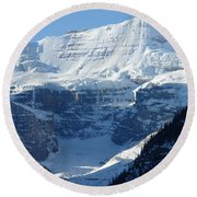 Avalanche Ledge Round Beach Towel
