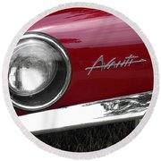 Avanti Round Beach Towel