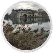 Avignon Round Beach Towel