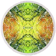 Awakened For Higher Perspective #1423 Round Beach Towel