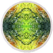 Awakened For Higher Perspective #1424 Round Beach Towel