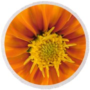 Awesome Blossom Round Beach Towel