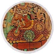 Aztec  Round Beach Towel