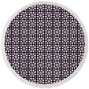 Azulejos Magic Pattern - 03 Round Beach Towel