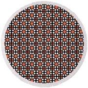 Azulejos Magic Pattern - 04 Round Beach Towel