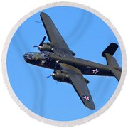 B-25 Mitchell, Doolittle Raiders Round Beach Towel