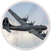 B-29 Superfortress Round Beach Towel