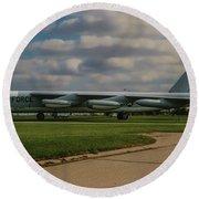 B-52 City Of Riverside Round Beach Towel