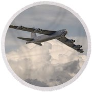 B52-h  Round Beach Towel