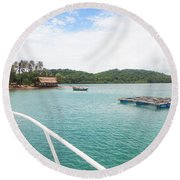 Ba Lua Archipelago Round Beach Towel