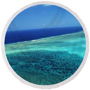 Babeldoap Islands Round Beach Towel