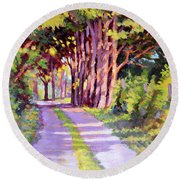 Backroad Canopy Round Beach Towel