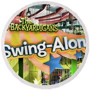 Backyardigans Swing-a-long Round Beach Towel