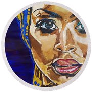 Baduizm Round Beach Towel