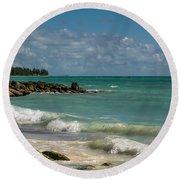 Bahamas Beach Round Beach Towel