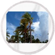 Bahamian Breeze Round Beach Towel