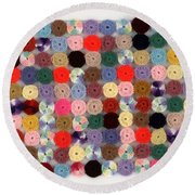 Balbina's Yarn Round Beach Towel