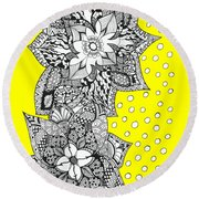 Bali Holiday Round Beach Towel