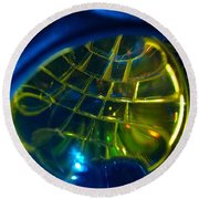 Ball Of Color Round Beach Towel