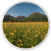 Ballachulish Round Beach Towel