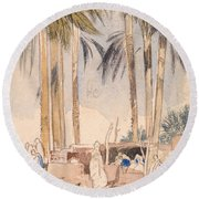 Ballianeh Round Beach Towel