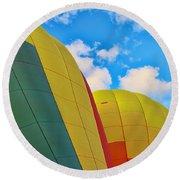 Balloon Fantasy 25 Round Beach Towel